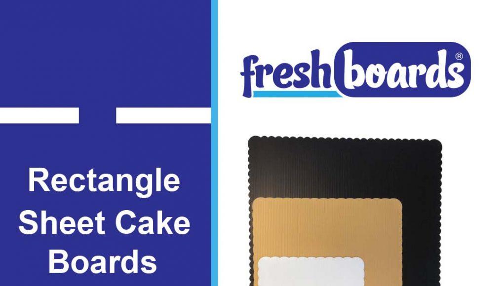 Rectangle Sheet Cake Boards
