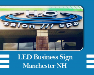 Led business sign Manchester NH
