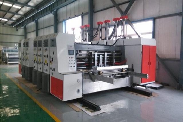corrugated printer die cutter
